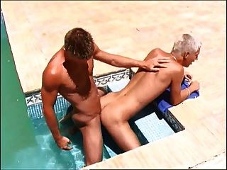 Hung Twink Justin In Pool Dipping Anal Fuck With Dawyd