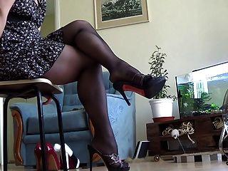 Batmannu Very Hot Legs And Heels