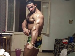 Hot Hairy Arab Muscle