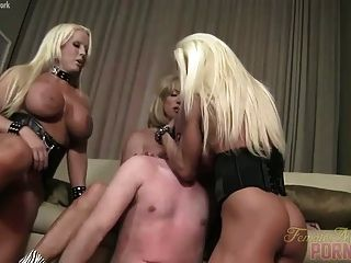 Ashlee, Wildkat, And Alura Teach Him A Lesson