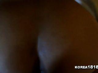 Korea1818.com - Hot Threesome Korean Girl Fucks Two Guys