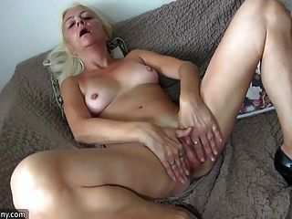 Oldnanny Old Lady Licking Pussy Of A Pretty Girl