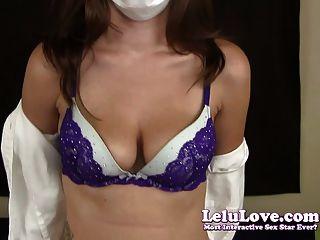 Lelu Love-medical Mask Blowjob Handjob
