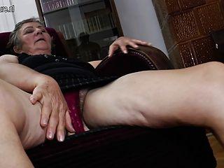 fucking lesbians Old granny