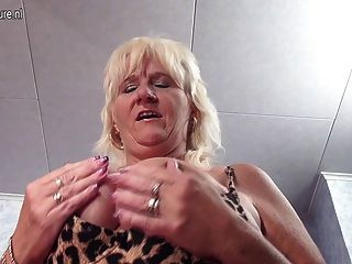 Pretty Granny-next-door Slut Pleasing Herself