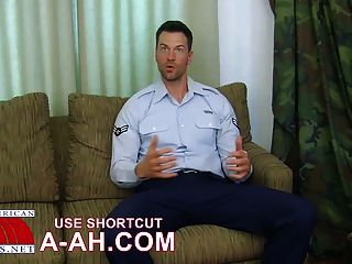Hunky Military Stud Solo