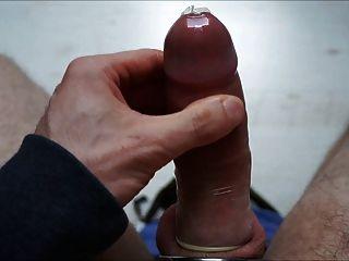 Condom Cum #1 With Cock Ring