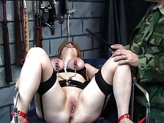 Busty buffy dominates guy with her juggs - 3 part 7