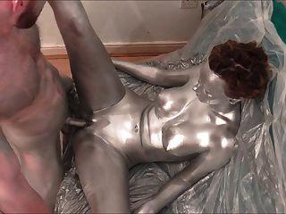 Hot drawing naked girl