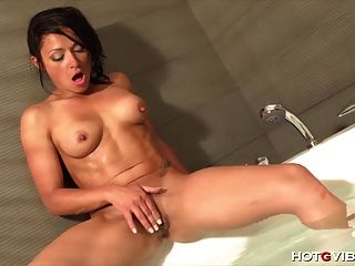 Spunky Latina Squirts Like No Other