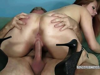 Anal fisting and gaping