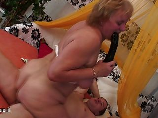 Granny Whore Fucking And Sucking Her Boy Toy