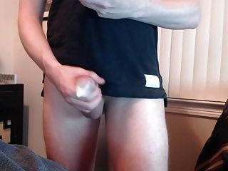 Multiple Cumshot Into A Condom!
