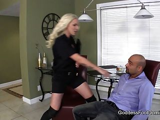 Probation Officers Boot Bitch - Femdom Boot Fetish