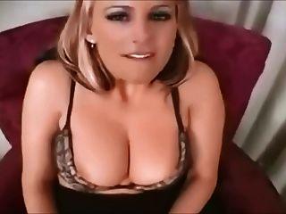 Joi Blonde Cum On My Face
