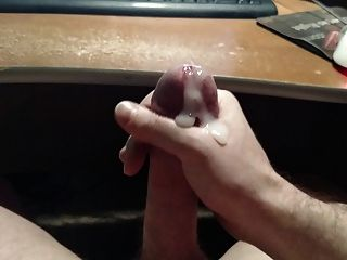 Stroking My Dick For A Big Load Of Cum
