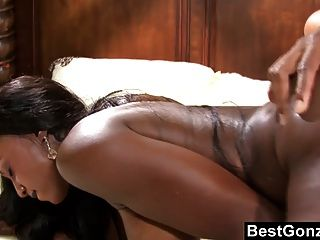 Busty Ebony Goddess Is Hungry For Cock