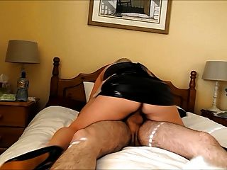 Amateur Fucking In Pvc And Heels!!