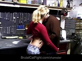 Work Rough Catfight And Hard Fuck Punishment