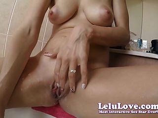Lelu Love-shaving Pussy Legs Armpits In Bath