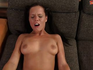 Teen With Pigtails Trades Lollipop For Cock
