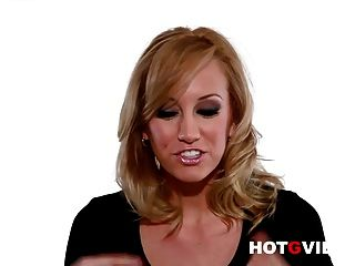 Hot G Vibe Interviews Sexy Blonde Pornstar Brett Rossi
