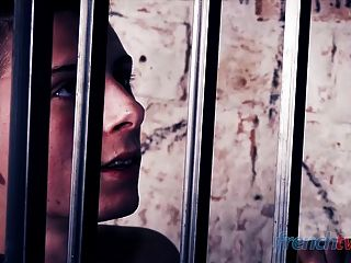 Cute French Twink Fucked Hard In Jail By The Warder