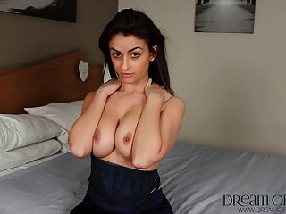British Teen Katie Shows Off Her Perky Tight Body