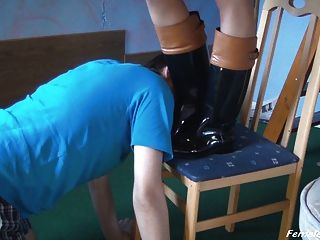Slave For Booted Girl