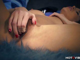 Petite Super Model Orgasms Hard