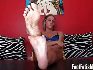Jerk It To My Sexy Ebony Feet