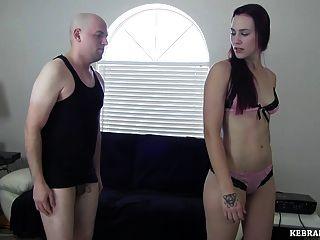 Dominatrix busts her roommates balls teasing ballbusting 6