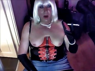 Chrissie Smoke And Wanks In Stockings Just For You