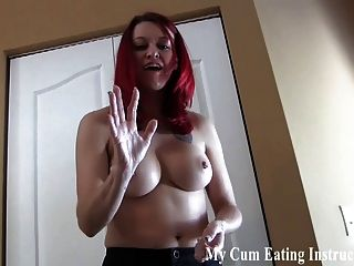 If You Jerk Off To Me You Have To Eat Your Own Cum Cei