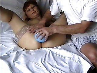 Enema #12 - Mature Woman