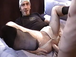 image Bisex montreal muscle daddy takes cock deep in his ass