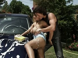 Susie Sorrento Wash Car (and Cock)