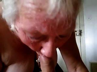 Granny Sucks And Swallows