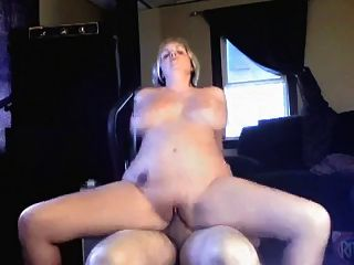 Homemade Chubby Amateur Blonde Slut Fucks On Cam
