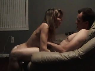 Wife share his large cock milking