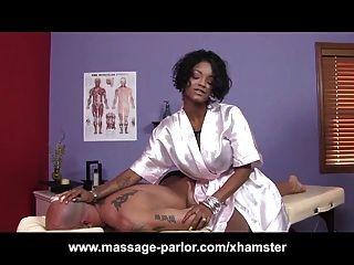 Big Tits Ebony Massage 69 And Cumshot