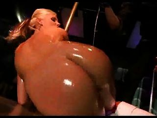 Oiled Strpping Ass