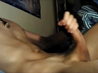 Hot Uncut Cock Cum A Big Load