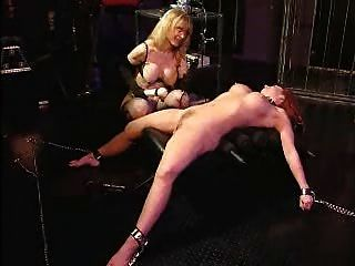 Bizarre rough sextoy domination of blonde crystel lei in med - 2 7