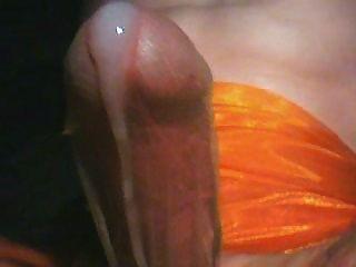 Masturbate And Cum Through Nylons