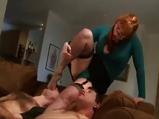 Brutal Ball Busting Face Slapping And Strap On Dominance