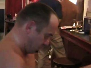 Bareback And Facial In A Public Bar. Xxx