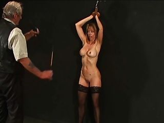 image Lesbian slaves fetching panties thrown by mistress