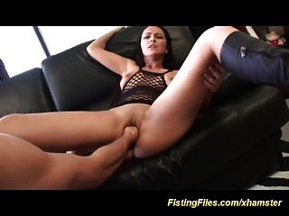 Its Her First Anal Fisting Today