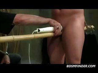 Clamped Nipples Toys And Spanking